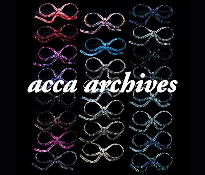<acca>25th anniversary archive collection