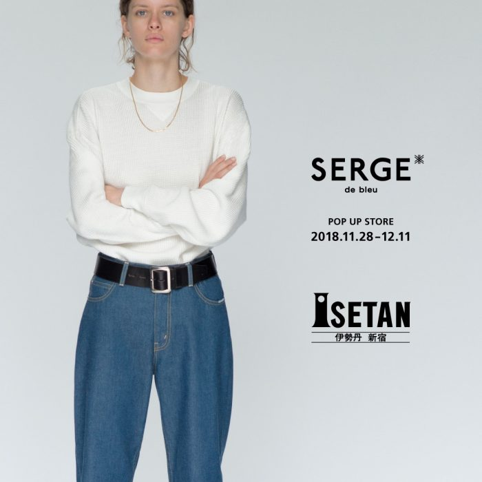 SERGE de bleu <like a boy like a women> NEW COLLECTION