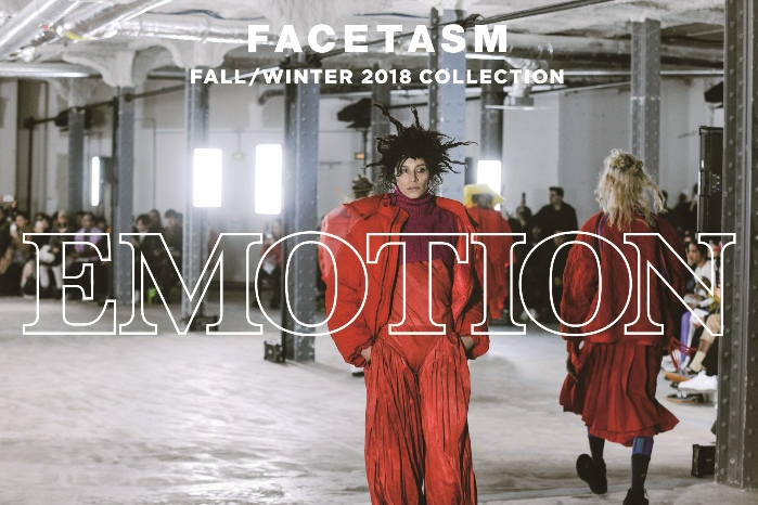 "FACETASM FALL/WINTER 2018 COLLECTION ""EMOTION"""