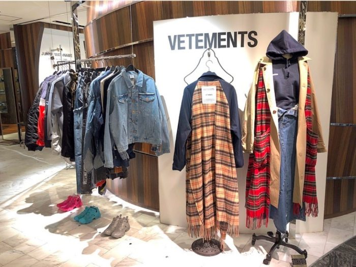 〈VETEMENTS〉2018AW Collection