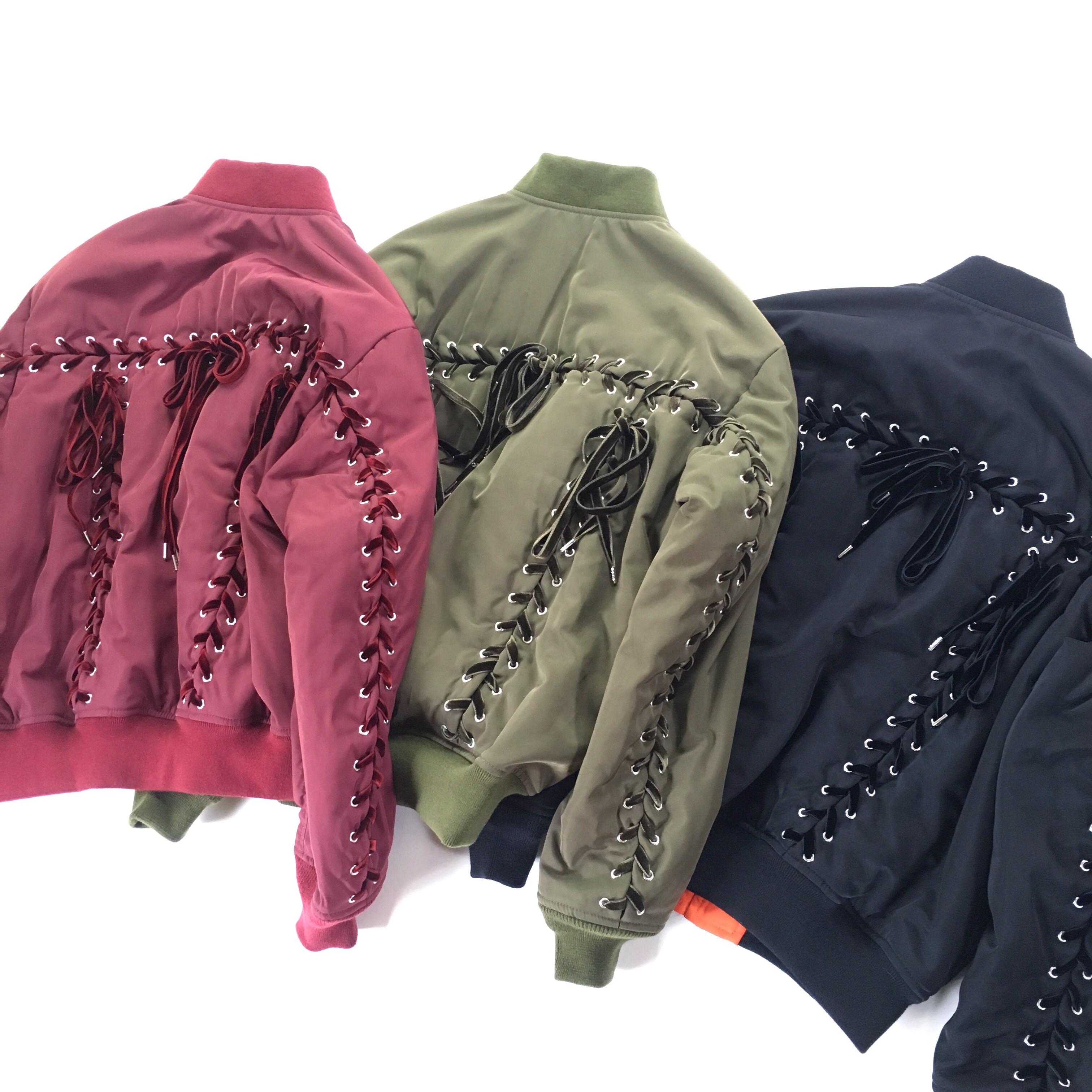 【G.V.G.V.】 LACE UP MA-1 BLOUSON 発売  !!